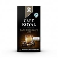 Kapsułki kawowe CAFE ROYAL GORZKA CZEKOLADA, 10 szt, Kawa, Artykuły spożywcze