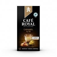 Kapsułki kawowe CAFE ROYAL KARMELOWE, 10 szt, Kawa, Artykuły spożywcze