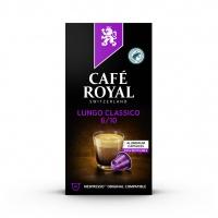 Kapsułki kawowe CAFE ROYAL LUNGO CLASSICO, 10 szt, Kawa, Artykuły spożywcze