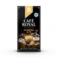 Kapsułki kawowe CAFE ROYAL LUNGO SCHUUMLI, 10 szt, Kawa, Artykuły spożywcze