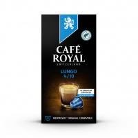 Kapsułki kawowe CAFE ROYAL LUNGO, 10 szt, Kawa, Artykuły spożywcze