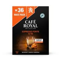 Kapsułki kawowe CAFE ROYAL ESPRESSO FORTE, 36 szt, Kawa, Artykuły spożywcze
