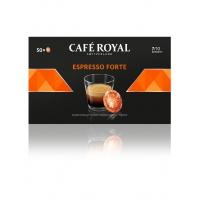 Kapsułki kawowe pads CAFE ROYAL ESPRESSO FORTE, 50 szt, Kawa, Artykuły spożywcze