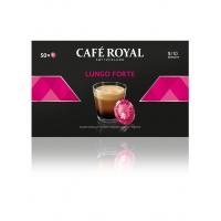 Kapsułki kawowe pads CAFE ROYAL LUNGO FORTE, 50 szt, Kawa, Artykuły spożywcze