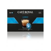 Kapsułki kawowe pads CAFE ROYAL LUNGO, 50 szt, Kawa, Artykuły spożywcze