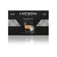 Kapsułki kawowe pads CAFE ROYAL RISTRETTO, 50 szt, Kawa, Artykuły spożywcze