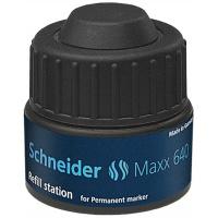 Stacja uzupełniająca SCHNEIDER Maxx 640, 30 ml, czarny, Markery, Artykuły do pisania i korygowania