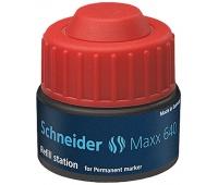 Stacja uzupełniająca SCHNEIDER Maxx 640, 30 ml, czerwony, Markery, Artykuły do pisania i korygowania