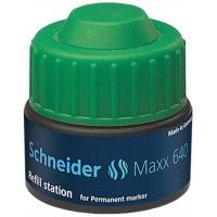 Stacja uzupełniająca SCHNEIDER Maxx 640, 30 ml, zielony, Markery, Artykuły do pisania i korygowania