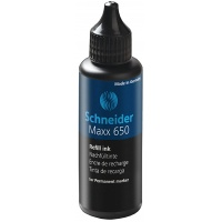 REFILL INK MAXX 650 BLACK FOR PERMANENT MARKER
