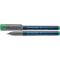 Foliopis permanentny SCHNEIDER Maxx 222, F, 0,7mm, zielony, Markery, Artykuły do pisania i korygowania