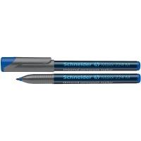 Foliopis permanentny SCHNEIDER Maxx 224, M, 1,0mm, niebieski, Markery, Artykuły do pisania i korygowania