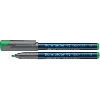 Foliopis permanentny SCHNEIDER Maxx 224, M, 1,0mm, zielony, Markery, Artykuły do pisania i korygowania