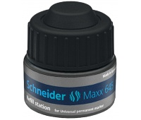 Stacja uzupełniający SCHNEIDER Maxx 645, 30ml, czarny, Markery, Artykuły do pisania i korygowania