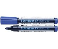 Marker do tablic SCHNEIDER Maxx 290, okrągły, 2-3mm, niebieski, Markery, Artykuły do pisania i korygowania