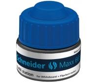 Stacja uzupełniająca SCHNEIDER Maxx 665, 30ml, niebieski, Markery, Artykuły do pisania i korygowania