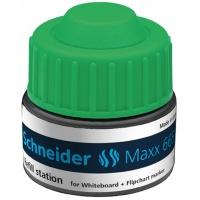 Stacja uzupełniająca SCHNEIDER Maxx 665, 30ml, zielony, Markery, Artykuły do pisania i korygowania