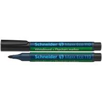 Marker do tablic Maxx Eco 110 okrągły 1-3 mm czarny, Markery, Artykuły do pisania i korygowania