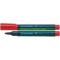 Marker do tablic Maxx Eco 110 okrągły 1-3 mm czerwony, Markery, Artykuły do pisania i korygowania