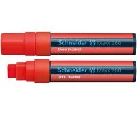 Marker kredowy SCHNEIDER Maxx 260 Deco, 5-15mm, czerwony, Markery, Artykuły do pisania i korygowania