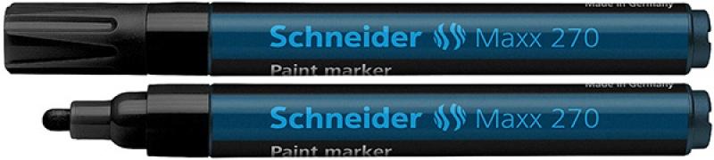Marker olejowy SCHNEIDER Maxx 270, okrągły, 1-3mm, czarny, Markery, Artykuły do pisania i korygowania