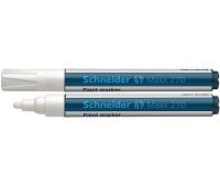 Marker olejowy SCHNEIDER Maxx 270, okrągły, 1-3mm, biały, Markery, Artykuły do pisania i korygowania