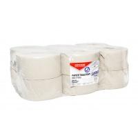 Papier toaletowy makulaturowy OFFICE PRODUCTS Jumbo, 1-warstwowy, 120m, 12szt., szary, Papiery toaletowe i dozowniki, Artykuły higieniczne i dozowniki