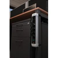Listwa zasilająca BRENNENSTUHL Premium, 4 gniazda, zaczep, 1, 8m, z wył., czarna, Przedłużacze, listwy, zasilacze, UPSy, Urządzenia i maszyny biurowe