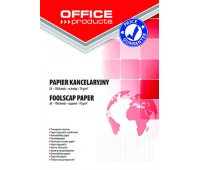 Foolscapy paper OFFICE PRODUCTS, square ruled, A3, 100 sheets