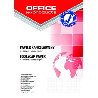 Papier kancelaryjny OFFICE PRODUCTS, kratka, A3, 100ark., Papiery specjalne, Papier i etykiety