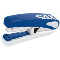 Zszywacz SAXDesign 519, zszywa do 20 kartek, na płasko, zintegrowany rozszywacz, niebieski, Zszywacze, Drobne akcesoria biurowe