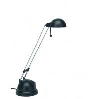 Lampka na biurko OFFICE PRODUCTS, 20W, halogen, czarna, Lampki, Urządzenia i maszyny biurowe