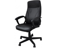 Office armchair, Crete, OFFICE PRODUCTS, black