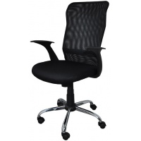 Office armchair, Rhodes, OFFICE PRODUCTS, black