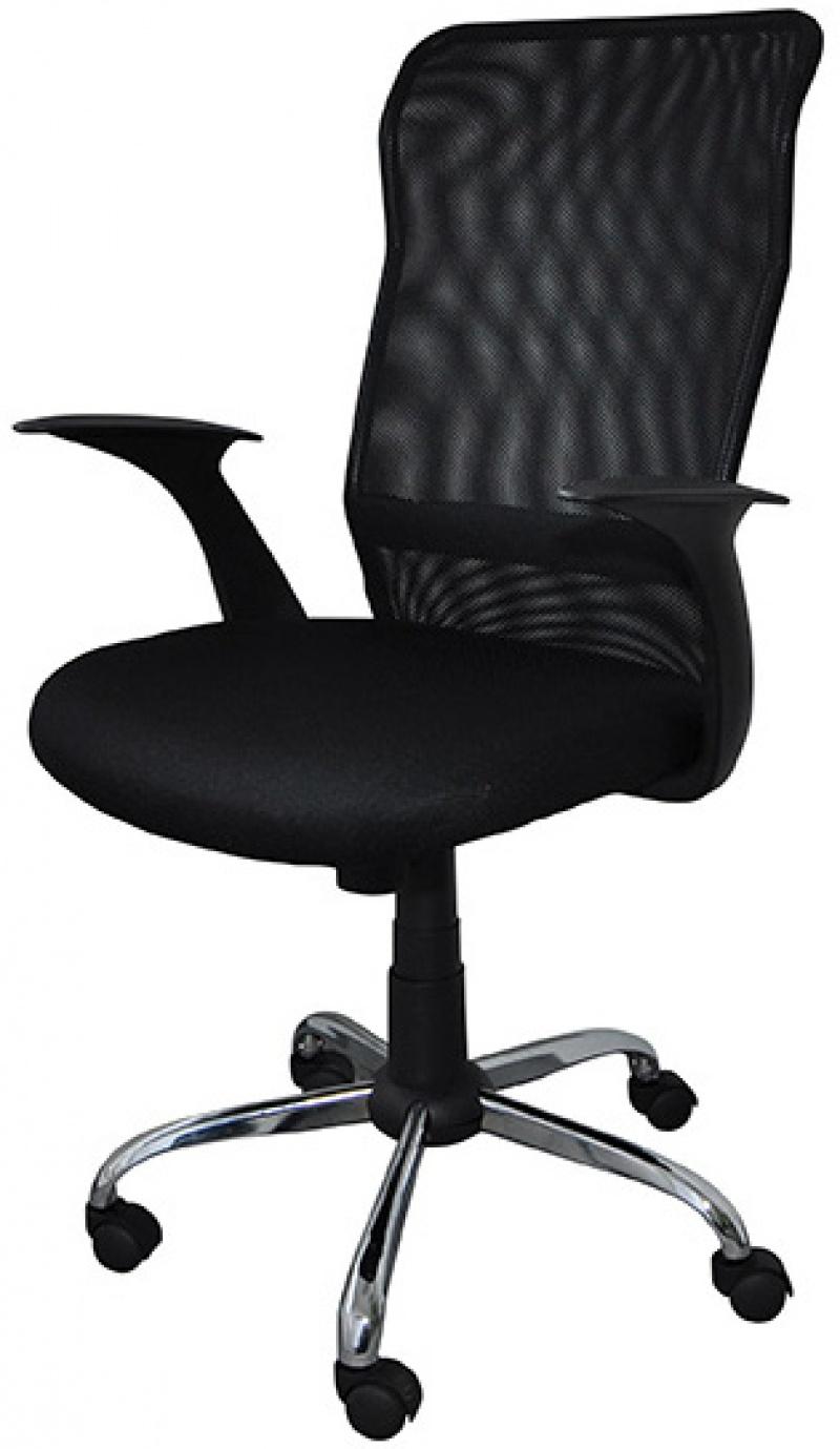Fotel biurowy OFFICE PRODUCTS Rodos, czarny, Krzesła i fotele, Wyposażenie biura