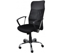 Office armchair, Corfu, OFFICE PRODUCTS, black