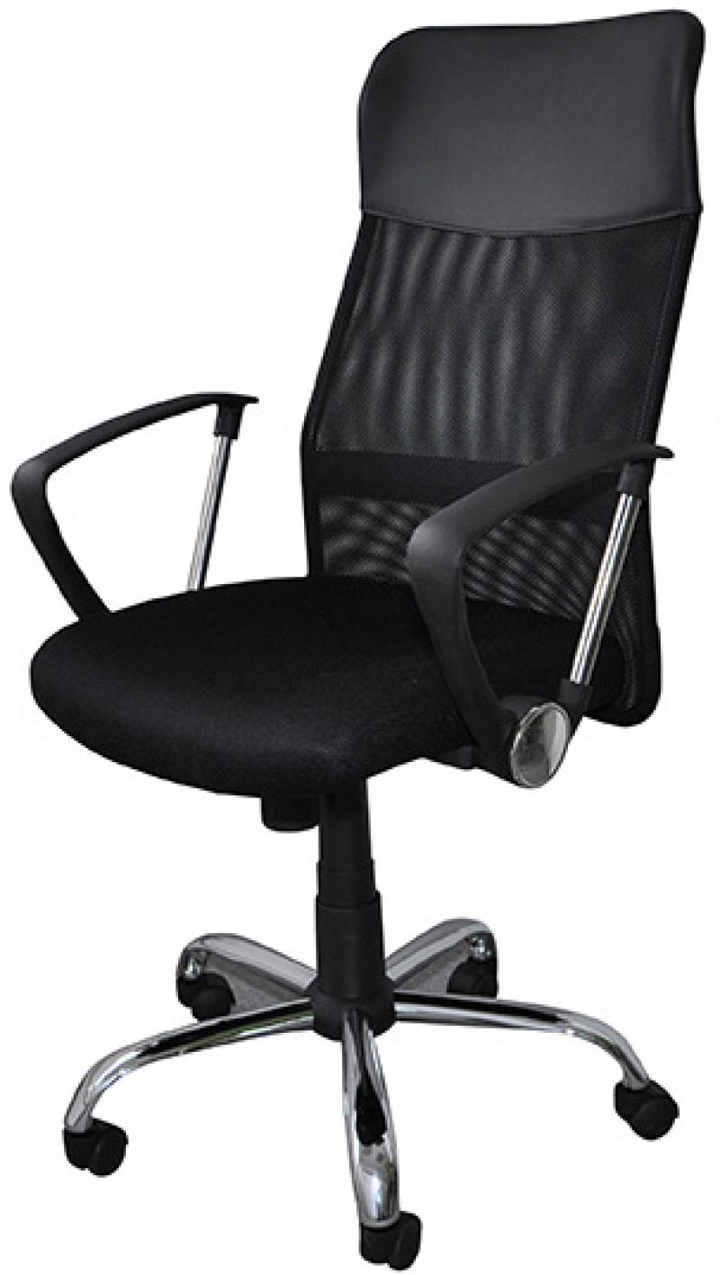 Fotel biurowy OFFICE PRODUCTS Korfu, czarny, Krzesła i fotele, Wyposażenie biura