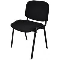 Krzesło konferencyjne OFFICE PRODUCTS Kos, czarny, Krzesła i fotele, Wyposażenie biura