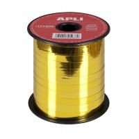 Wstążka na szpulce, 7mmx250m, złota, Produkty kreatywne, Szkoła 2015