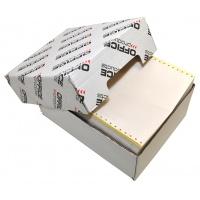 Papier komputerowy samokopiujący OFFICE PRODUCTS, 240X12''X4, bez nadruku O/K, 400 składek, Papier komputerowy, Papier i etykiety