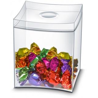 Pudełko na słodycze CEP Take a break, transparentne, Take a break, Wyposażenie biura