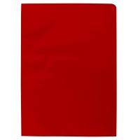 Obwoluta DONAU Twin-Pocket, A4, 1 szt., czerwona, Koszulki i obwoluty, Archiwizacja dokumentów