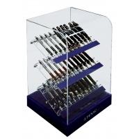 Display długopisów PENAC D19 ACRYL VITRINE, 30szt., mix kolorów, Długopisy, Artykuły do pisania i korygowania