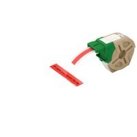 Kaseta z plastikową taśmą do drukowania etykiet 12mm Leitz Icon, czerwona, Akcesoria do drukarek do ikon, Urządzenia i maszyny biurowe