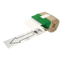 Kaseta z plastikową taśmą do drukowania etykiet 88mm Leitz Icon, biała, Akcesoria do drukarek do ikon, Urządzenia i maszyny biurowe