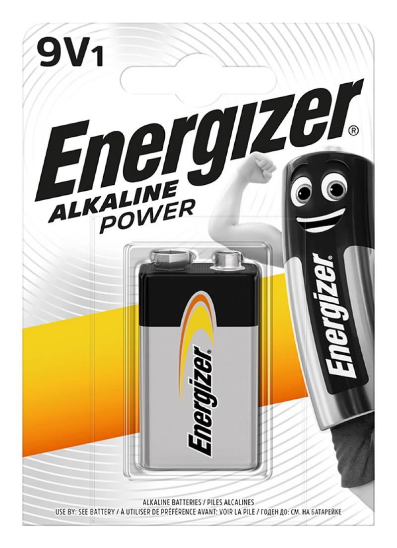 Bateria ENERGIZER Alkaline Power, E, 6LR61,9V