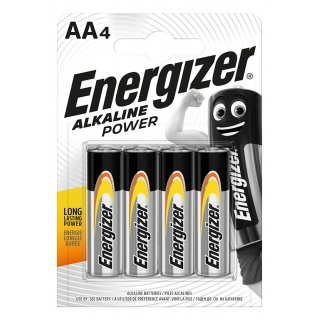 Bateria ENERGIZER Alkaline Power, AA, LR6, 1,5V, 4szt.