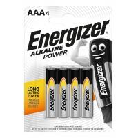 Bateria ENERGIZER Alkaline Power, AAA, LR03, 1, 5V, 4szt.