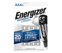 Bateria ENERGIZER Ultimate Lithium, AAA, L92, 1,5V, 4szt.
