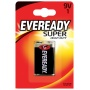 Battery, EVEREADY Super Heavy Duty, E, 6F22, 9V
